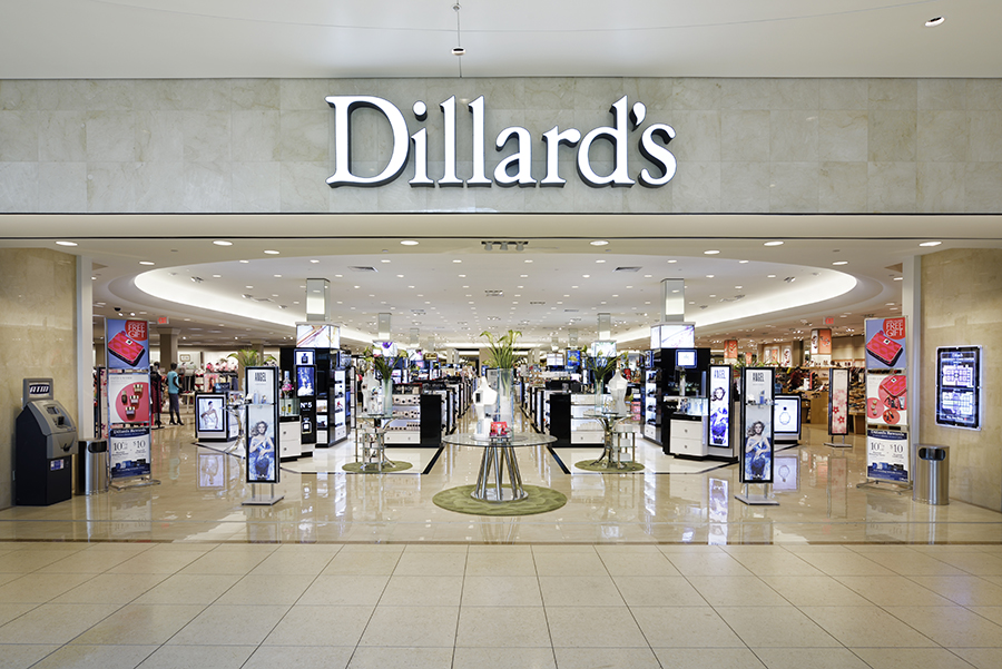 Dillards clothing store